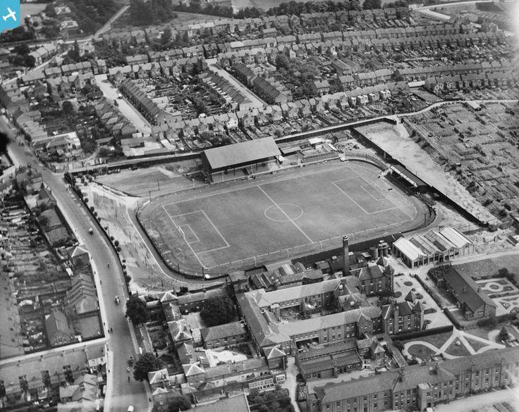Vicarage Road Football Ground, Watford, 1932