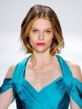 Frisur für feines haar und schmales gesicht