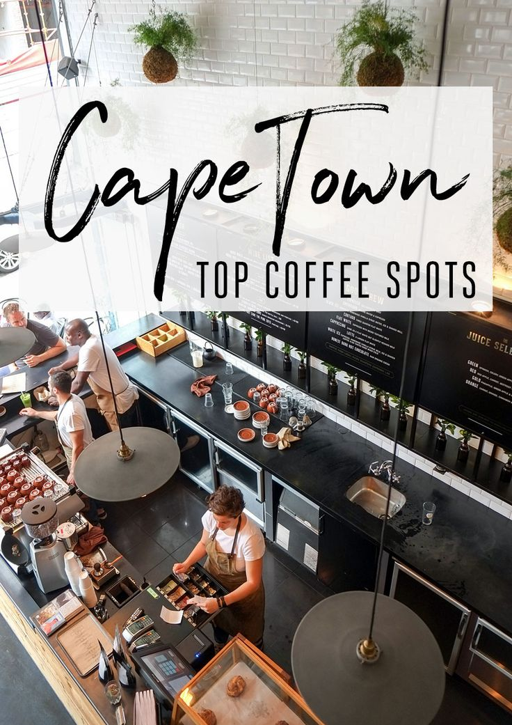 Cape Town's top coffee spots