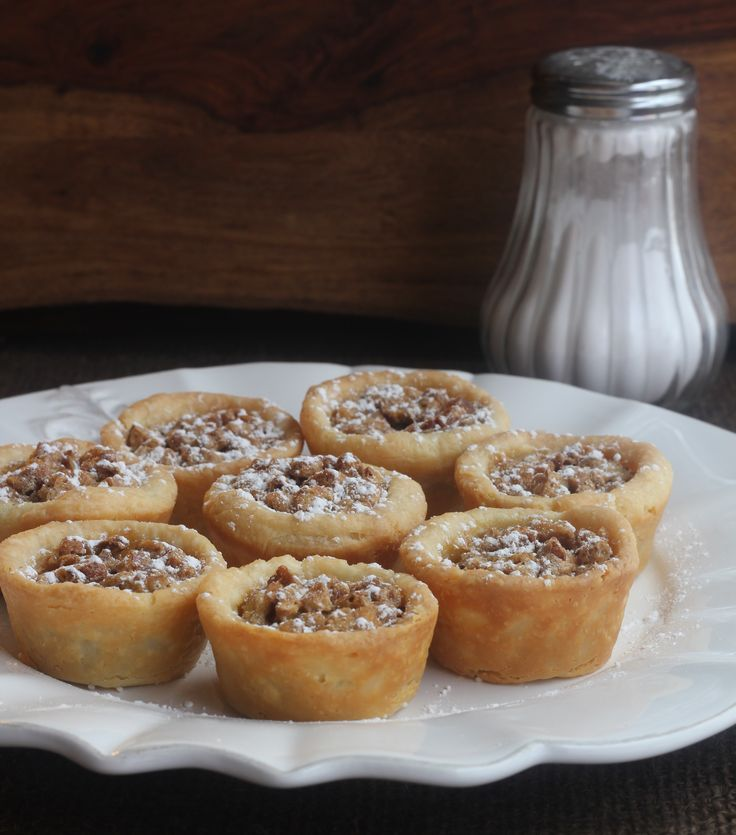 When you want just a bite- Mini Pecan Pies.