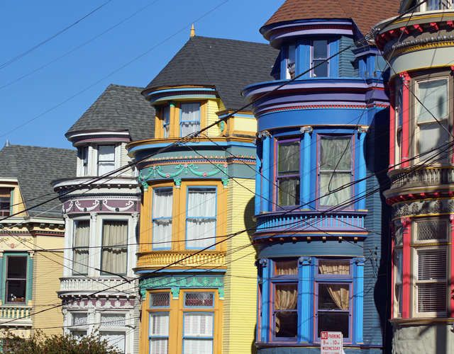Walking tour of Haight Ashbury's iconic Painted Ladies  From Charles Manson's home to the Grateful Dead house...