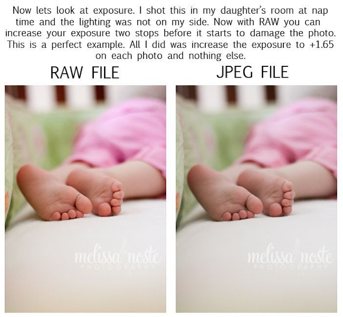 I have got to learn how to use my dslr I've had for over a year to its full potential! Article - RAW vs. JPEG