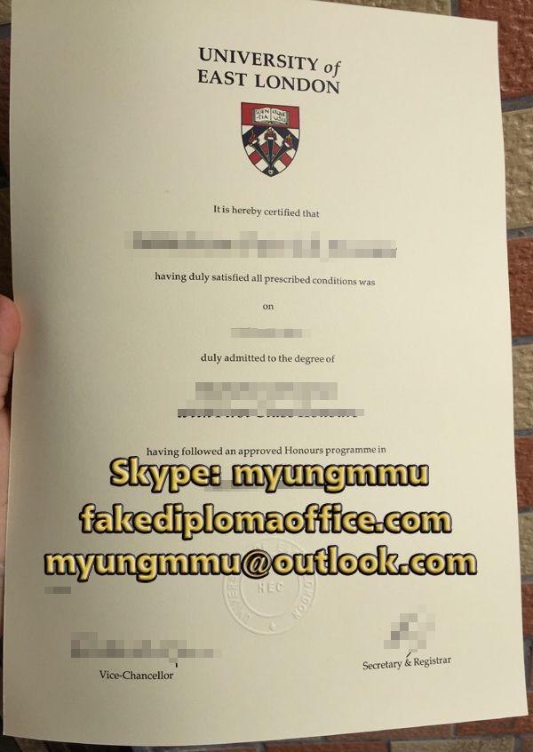 Uel High Quality Diploma Fake Degree Fake Transcript Fake Uel