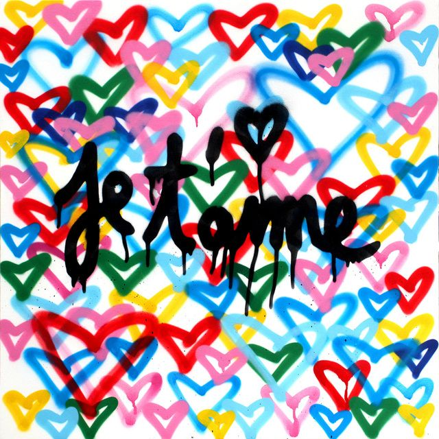 Mr. Brainwash | Je T'aime (2016), Available for Sale | Artsy