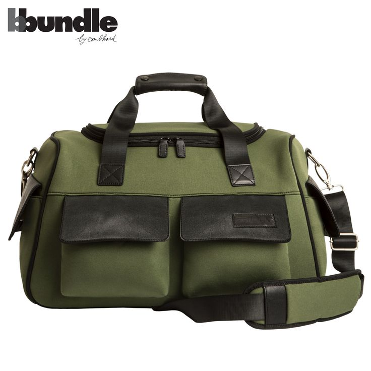 BBundle by Combhard, Dino bag  neoprene and leather