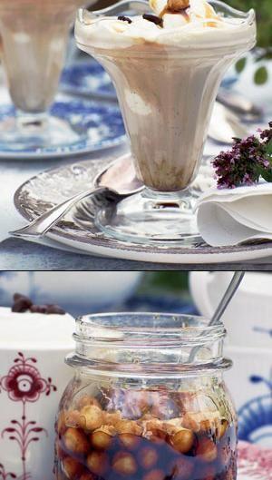Iskaffe med hasselnøddesirup | ISABELLAS