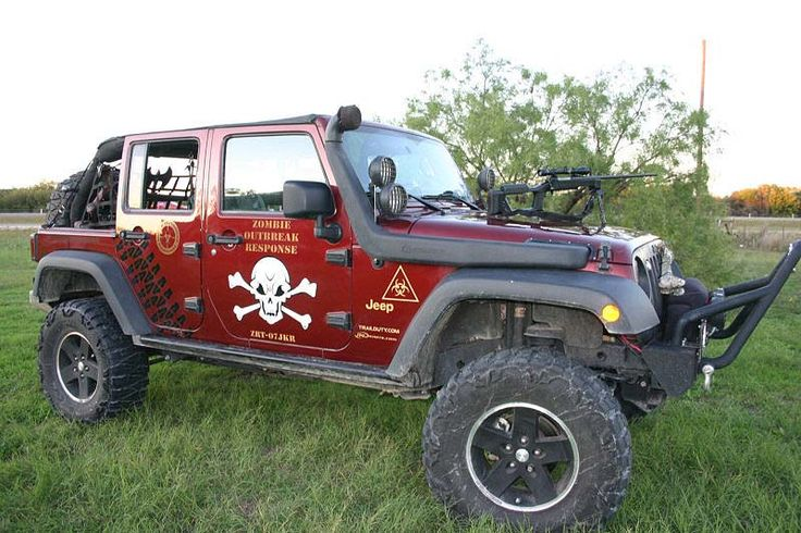 Zombie Protection Vehicle Enter For Your Chance To Win
