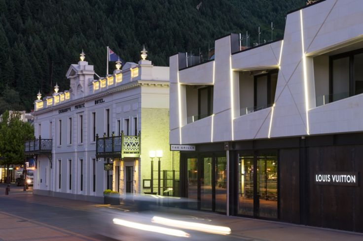 Modern meets historic with the Eichardt's expansion of The Grille by Eichardt's in Queenstown, New Zealand.