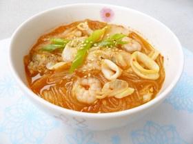 Kimchi Harusame ramen