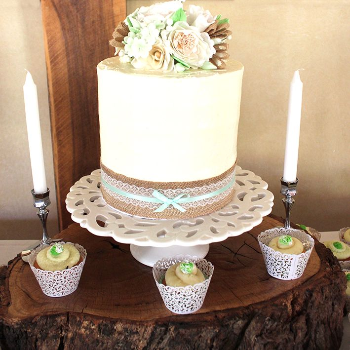 Hayley and Brendon's Wedding Cake by Mandy Baked It #countryweddings #wedding #gettinghitched #eyg2015