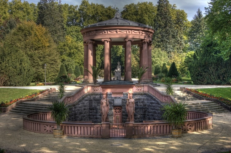 Elisabethenbrunnen in Bad Homburg vor der Höhe, Germany