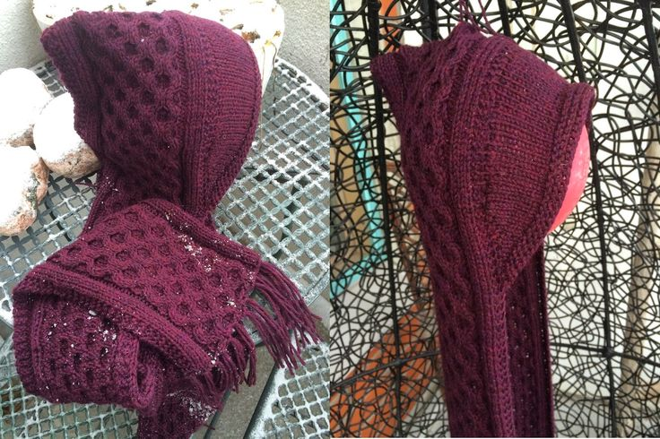 A needle and some thread: Honeycomb Hood finally finished!