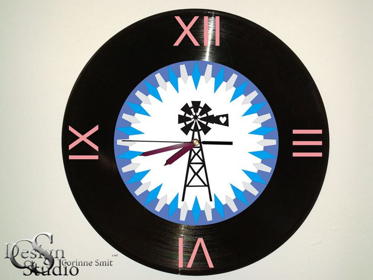 African Inspired Wall Clock design by CS Design Studio