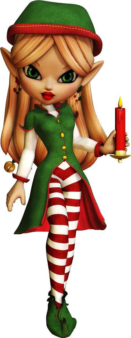 Tubes Poser PNG de Cookie sur le thème de Noël gratuits