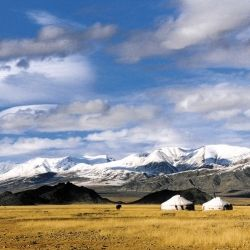 Trek to the Unexpected, visit lesser-known parts of the globe. Dramatic landscape in deepest Mongolia, as seen in the weekend journal. via notventures.notcot.org