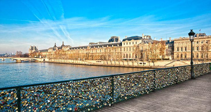 Pont de Arts - Rio sena, Paris