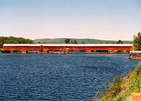 Pont marchand, Fort-Coulonge, Québec, Canada