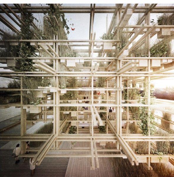 Penda | Austrian Pavilion Expo 2015 | 2013