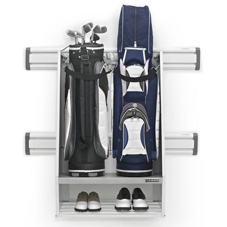 Gladiator Golf Caddy - White