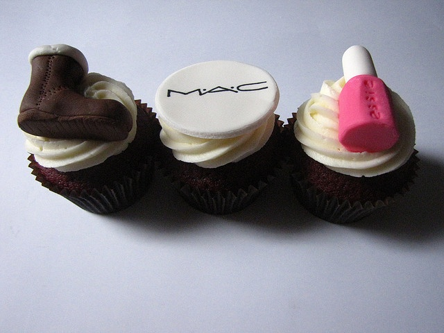 Fashion Cupcakes by clevercupcakes