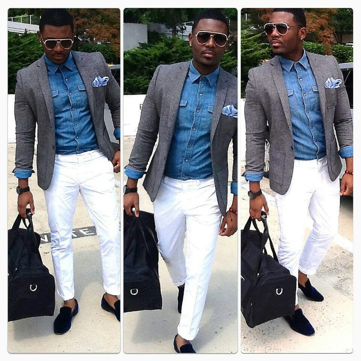 """African men of the Congo"" Love White Pants!!!"