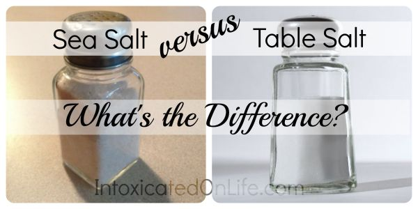 Table Salt vs Sea Salt: What's the difference?!