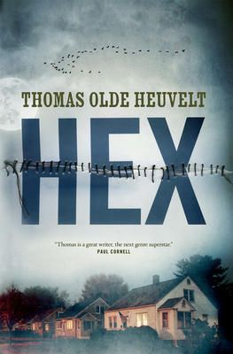 Hex - Thomas Olde Heuvelt. The story of a town haunted by a 300 y.o. witch. Or is it? Parallell can be drawn to modern day politics. Maybe the things we fear are not the things that should scare us the most?