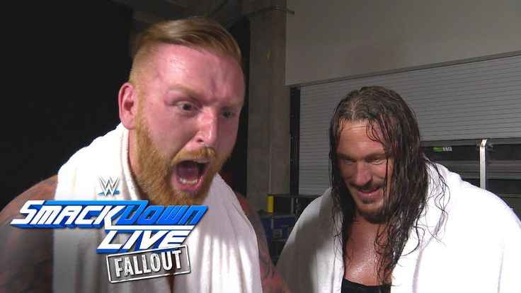 A victorious Heath Slater simply cannot contain himself: SmackDown LIVE Fallout, Sept. 6, 2016 - http://newsaxxess.com/a-victorious-heath-slater-simply-cannot-contain-himself-smackdown-live-fallout-sept-6-2016-2/