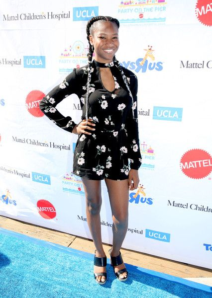 Reiya Downs Photos Photos - Actress Reiya Downs attends the 17th Annual Mattel Party on the Pier on September 25, 2016 in Santa Monica, California. - 17th Annual Mattel Party on the Pier