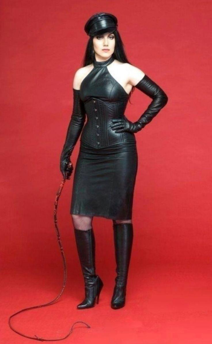 Leather dominatrixes