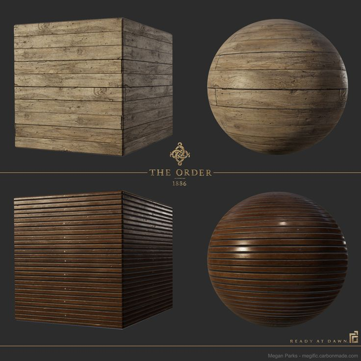 ArtStation - The Order: 1886 airship wood flooring, Megan Parks