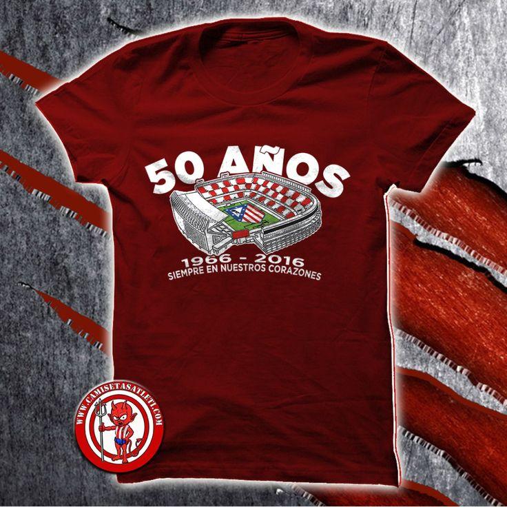 Camiseta 50 Aniversario Vicente Calderón  