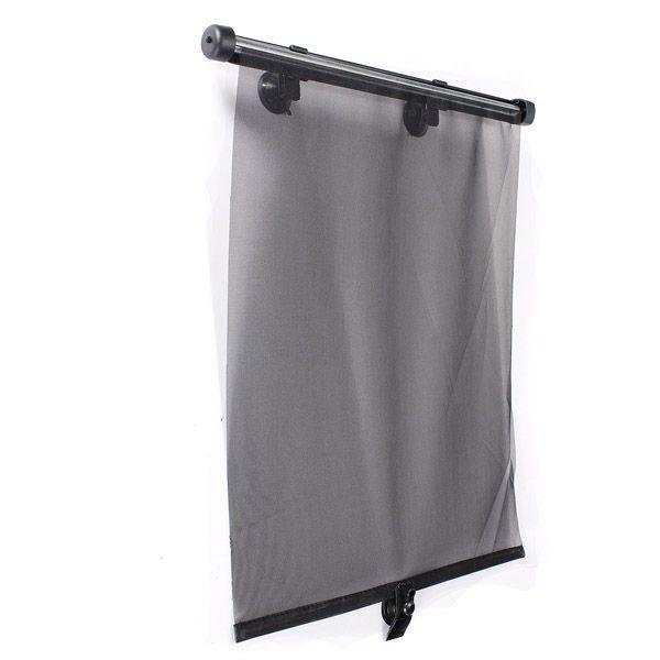 2x Car Side Window Sunshade Visor Roller Blind Screen Protector