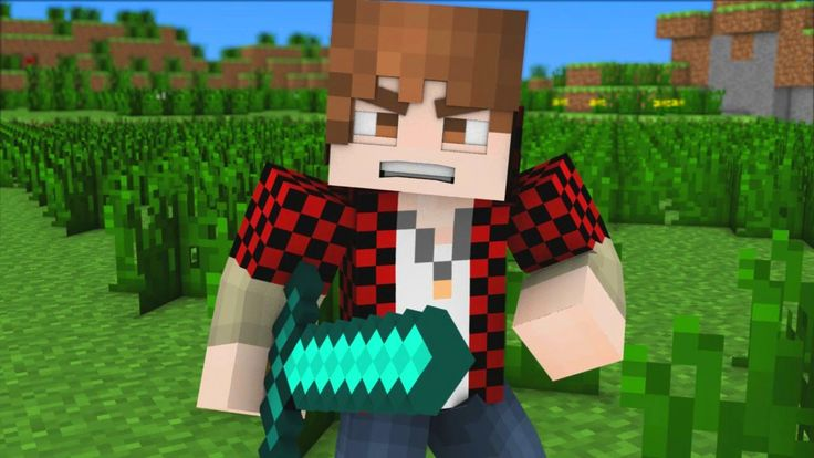 "♪ ""Bajan Canadian Song"" - A Minecraft Parody of Imagine Dragons (Music Video) *Squeals* BENJA!!!! HE HAS HOODIES AHHHH!"