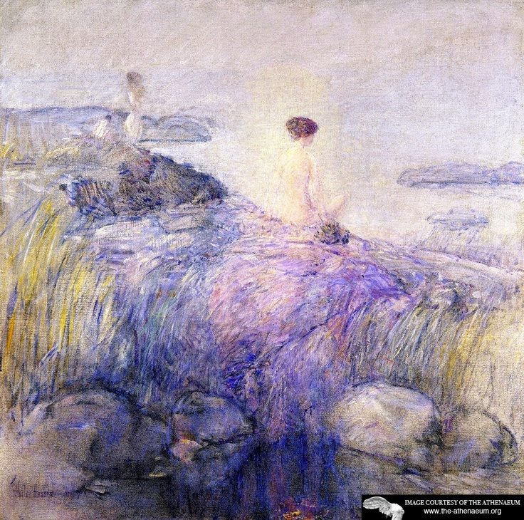Maids in the Mist  Frederick Childe Hassam: Frederickchildehassam Ii, Child Hassam18591935, Art Inspiration, Frederich Child, Mists Frederick Child, Art Child, Artists Frederick Child, Artists Inquiry, Art Galleries