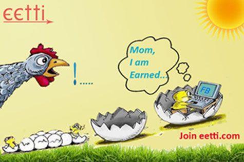 Register Free  Earn Money With #SocialMedia  Visit eetti.com