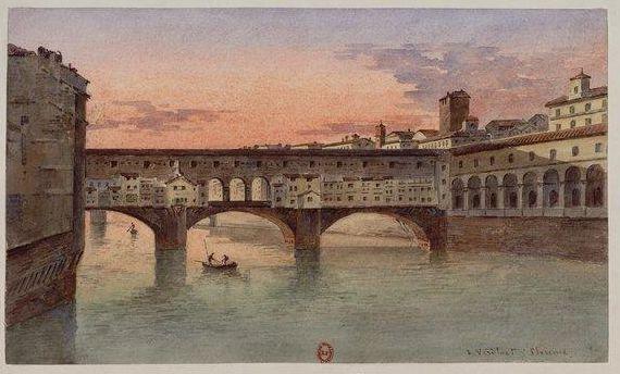 ♕ℛ. ~ Ponte Vecchio Firenze by J. Vervloet