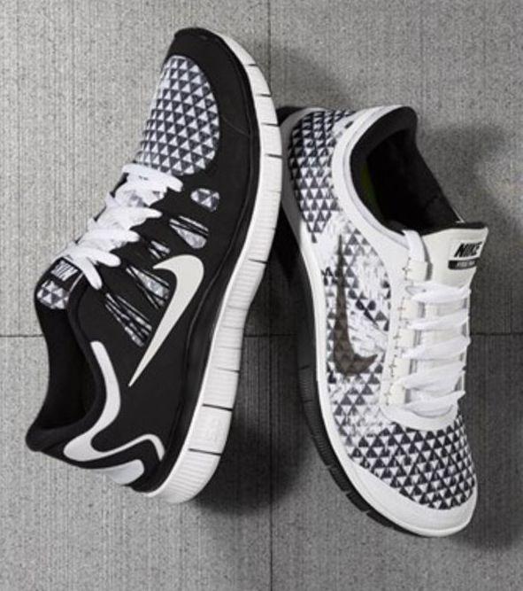 Nike 5.0 running shoes.