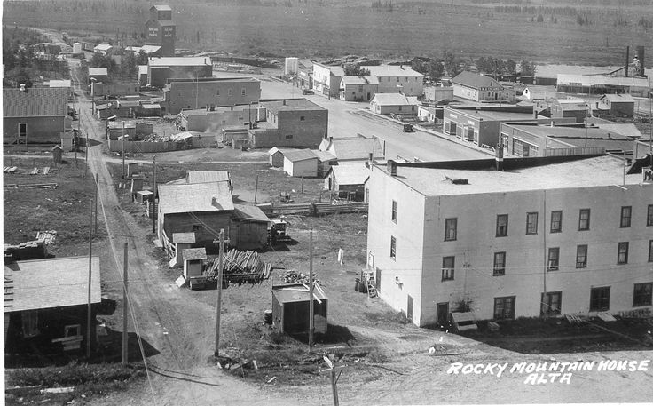 Historical Photos Photographs of Rocky Mountain House