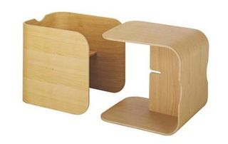 Interlocking toddler Chair and Table
