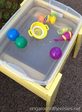 full tutorial for sand and water tables