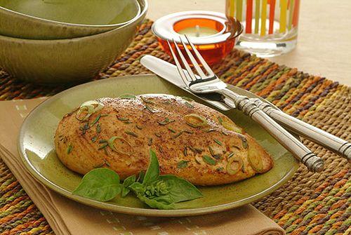 Zesty Chicken - Kidney-Friendly Recipes - DaVita- I think I would add some basil and lemon juice