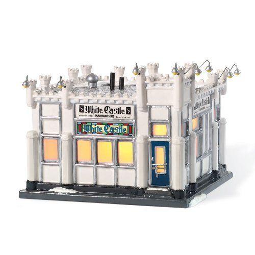 Department 56 Snow Village Miniature Lit Building, White Castle Hamburger Restaurant Department 56,http://www.amazon.com/dp/B001TG4B9K/ref=cm_sw_r_pi_dp_9flftb03CEWXMRR3