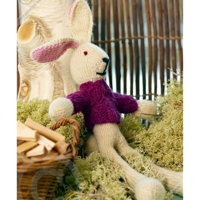 50 best easter decorating ideas to knit images on pinterest free this knit bunny doll makes the perfect easter decoration pair him with some chocolate and negle Gallery
