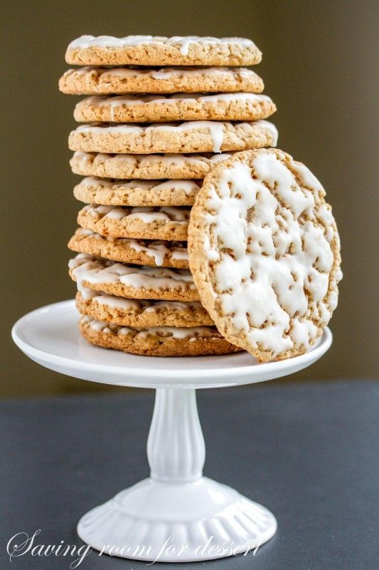 Old-Fashioned Iced Oatmeal Cookies-4
