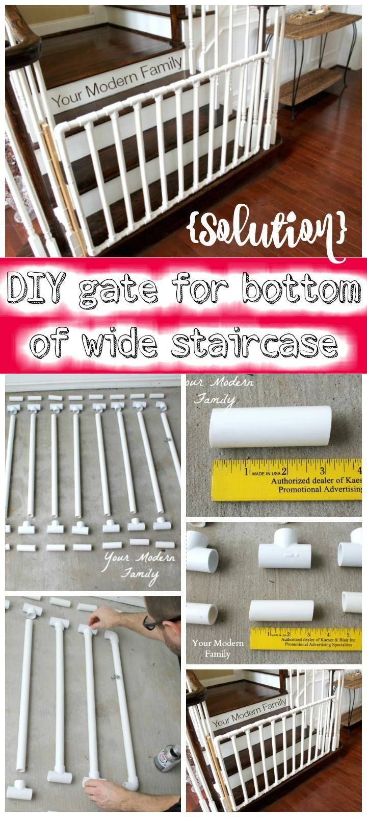 30 Best DIY Baby Gate Tutorials on Cheap Budget | DIY & Crafts