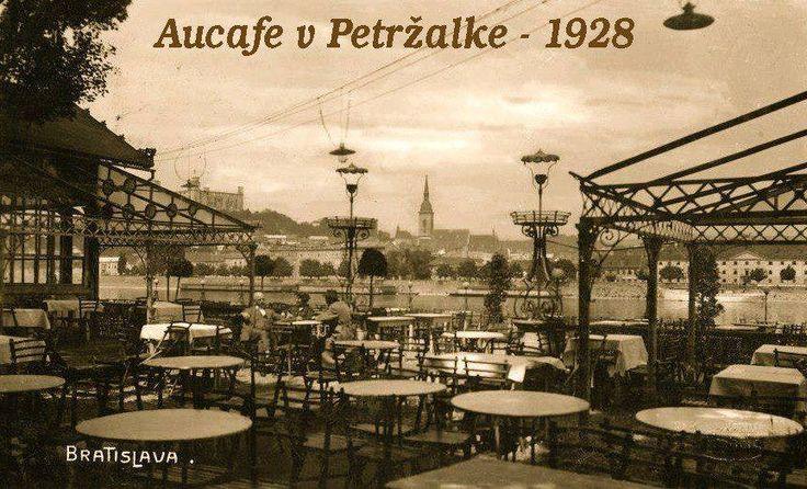 Aucafe v Petržalke v roku 1928