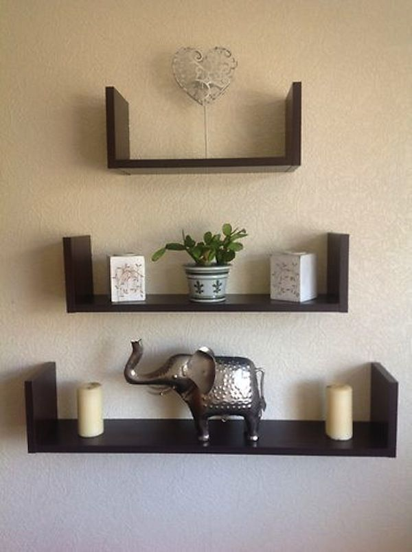 Wooden Wall Mounted Shelves * Read more at the image link.