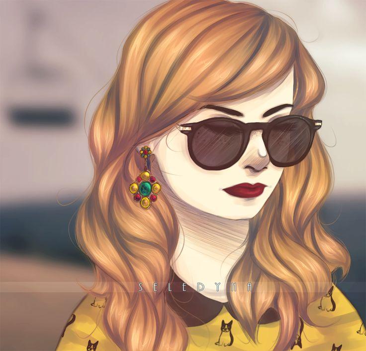 Autumn Autoportrait by Seledyna