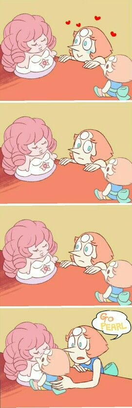 Steven universe pearl and dolls cite comic: